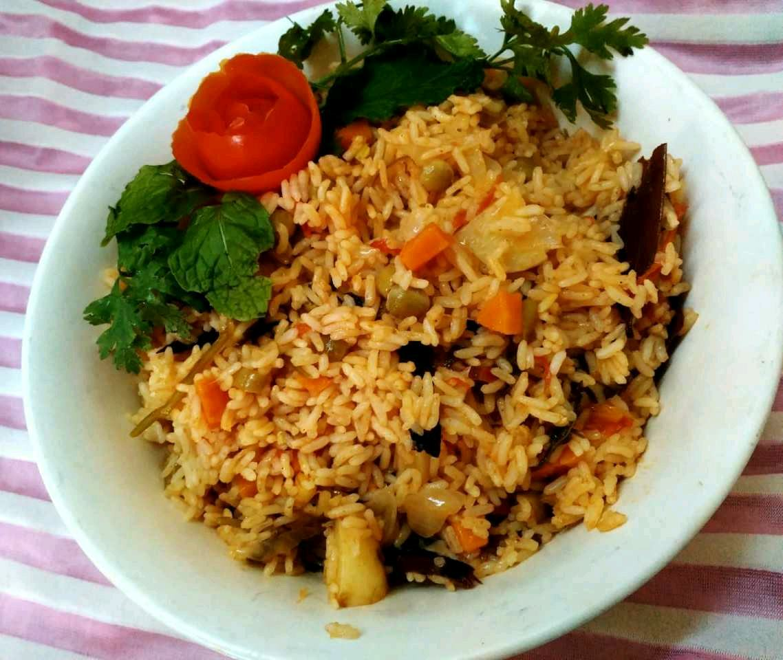 Chettinad Vegetable Biryani
