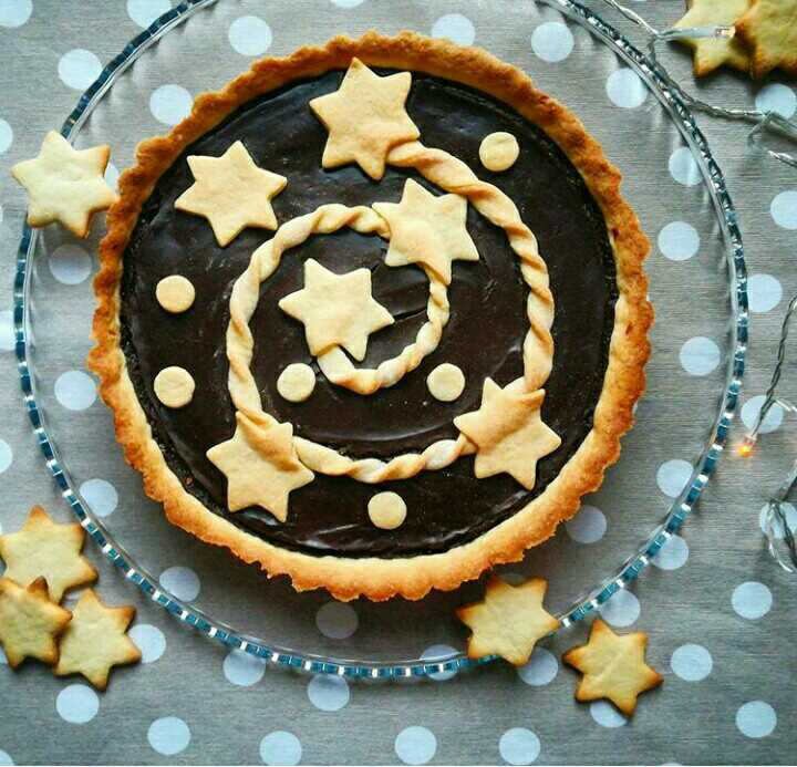 Chocolate Fudge Short Crust Pie
