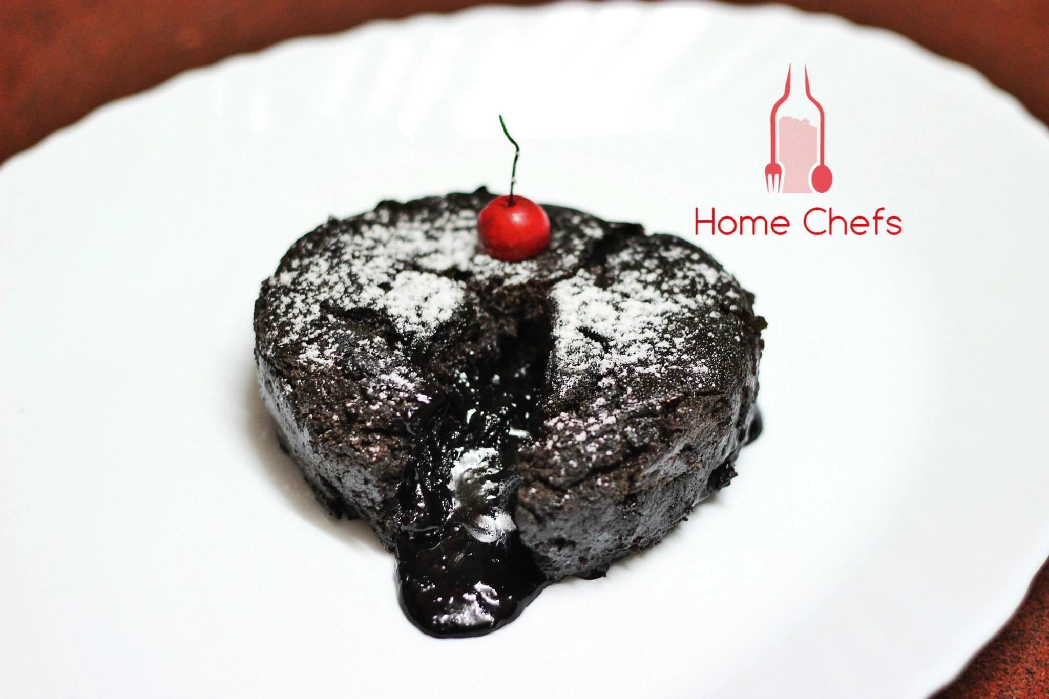 Molten Choco  Lava muffin