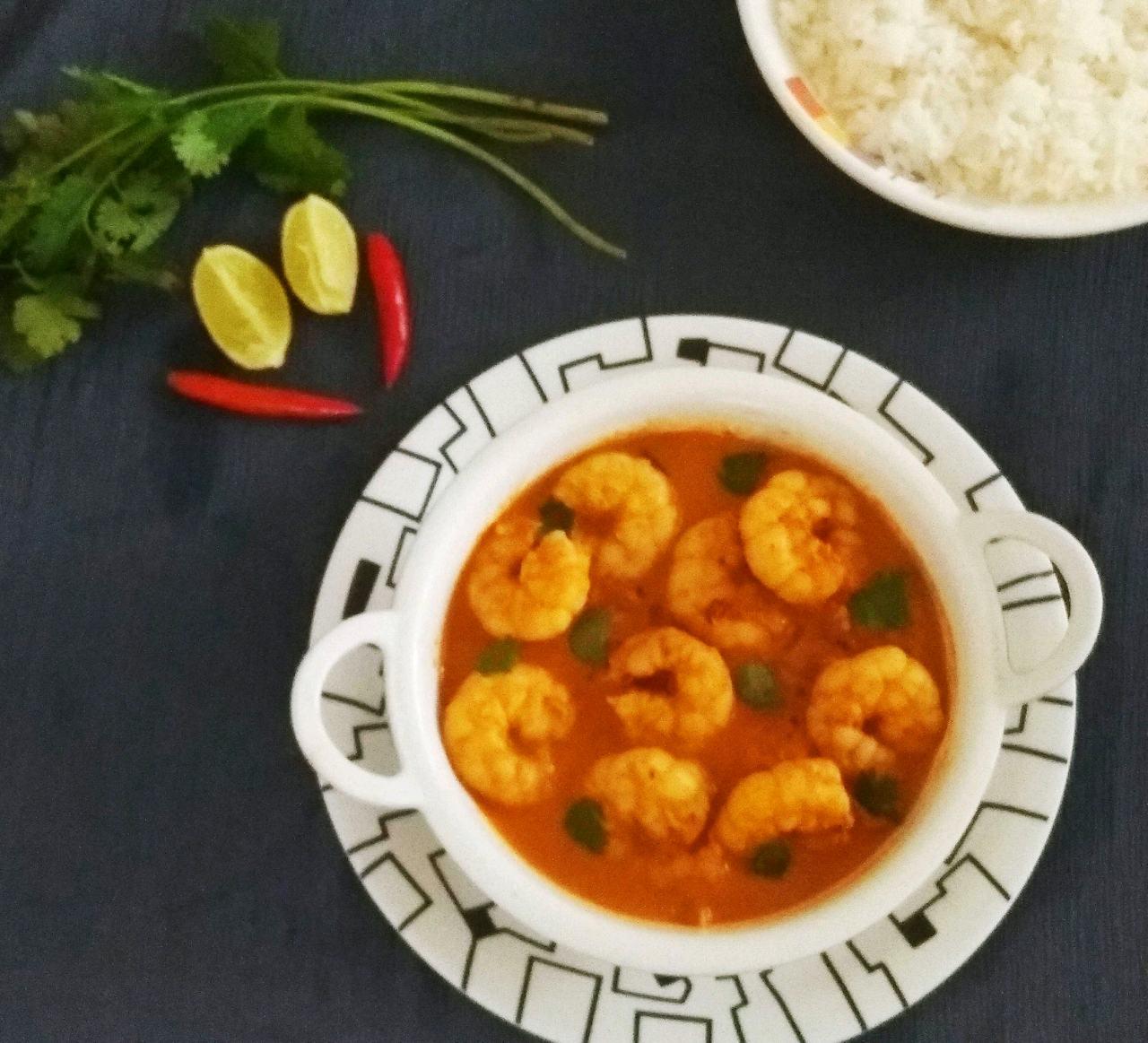 Ambot Tik/ Goan Prawns Curry