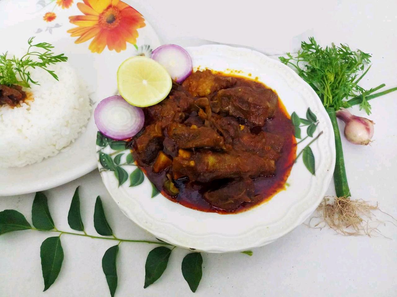Andhra Special Spicy Mutton Curry