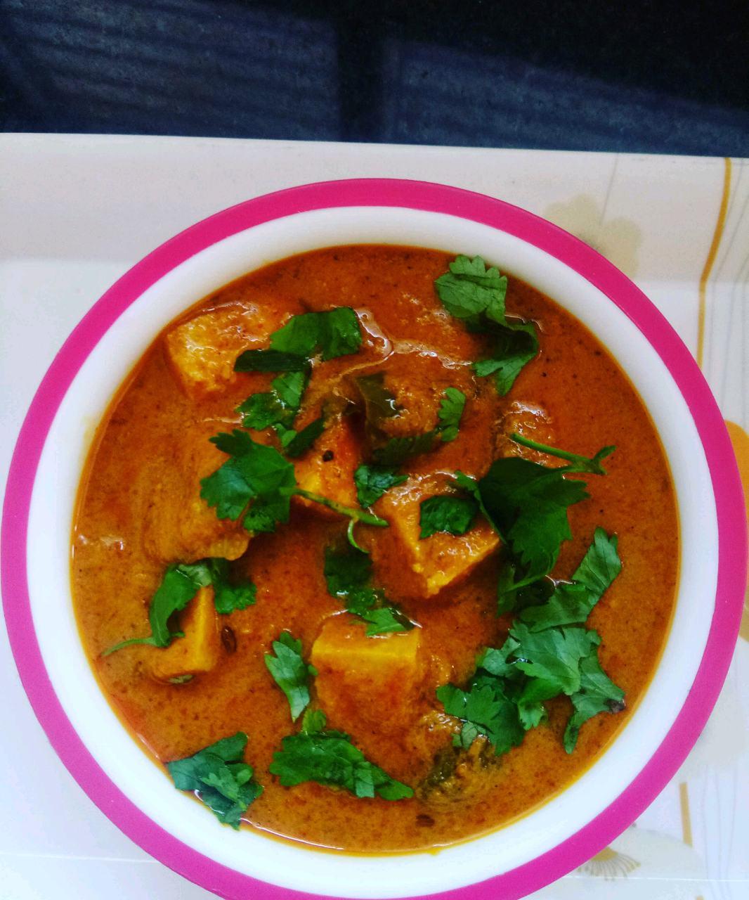 Paneer Makhana Curry