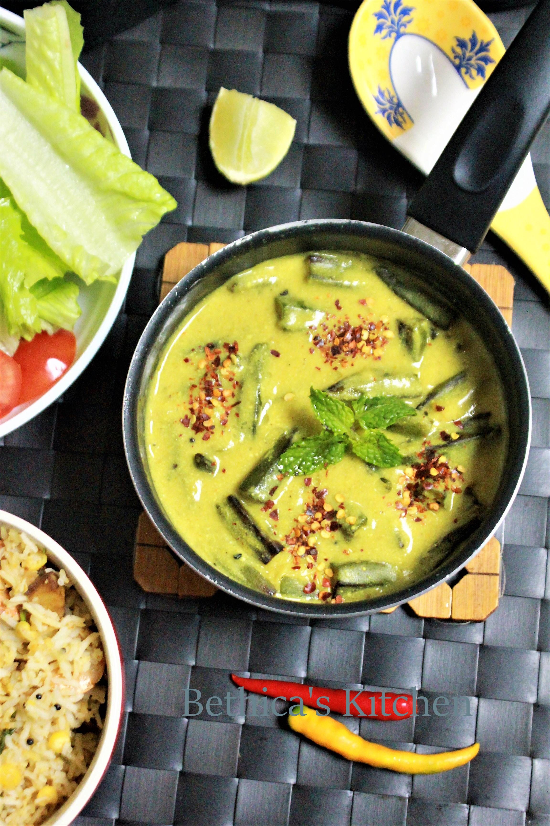 Okra in Yoghurt Sauce