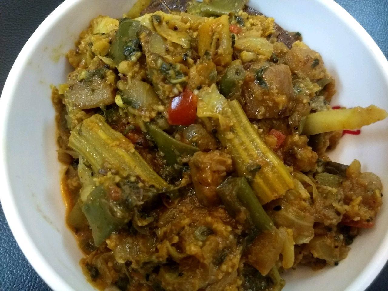 Labra, A Bengali Traditional Dish