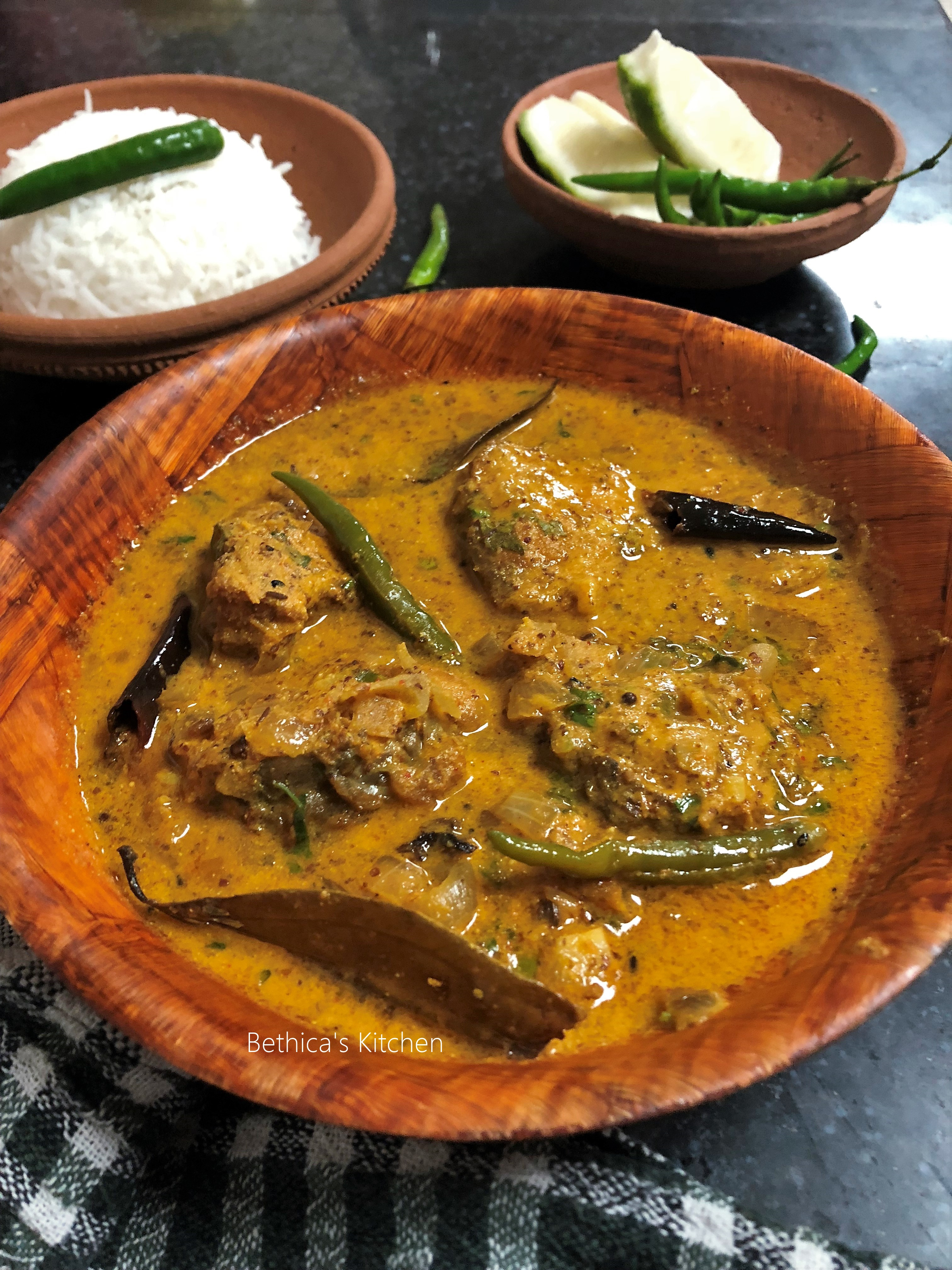 Macha Besara (Traditional Odisha Fish Curry)