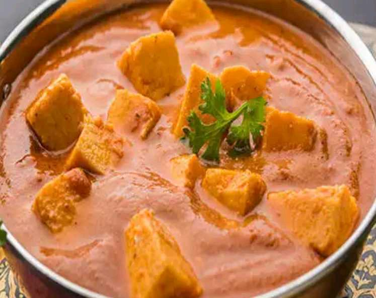 Paneer Butter Masala From Punjab