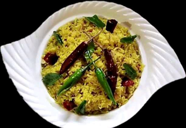pulihora ( puliyogare )(tamarind rice) recipe - Andhra styte