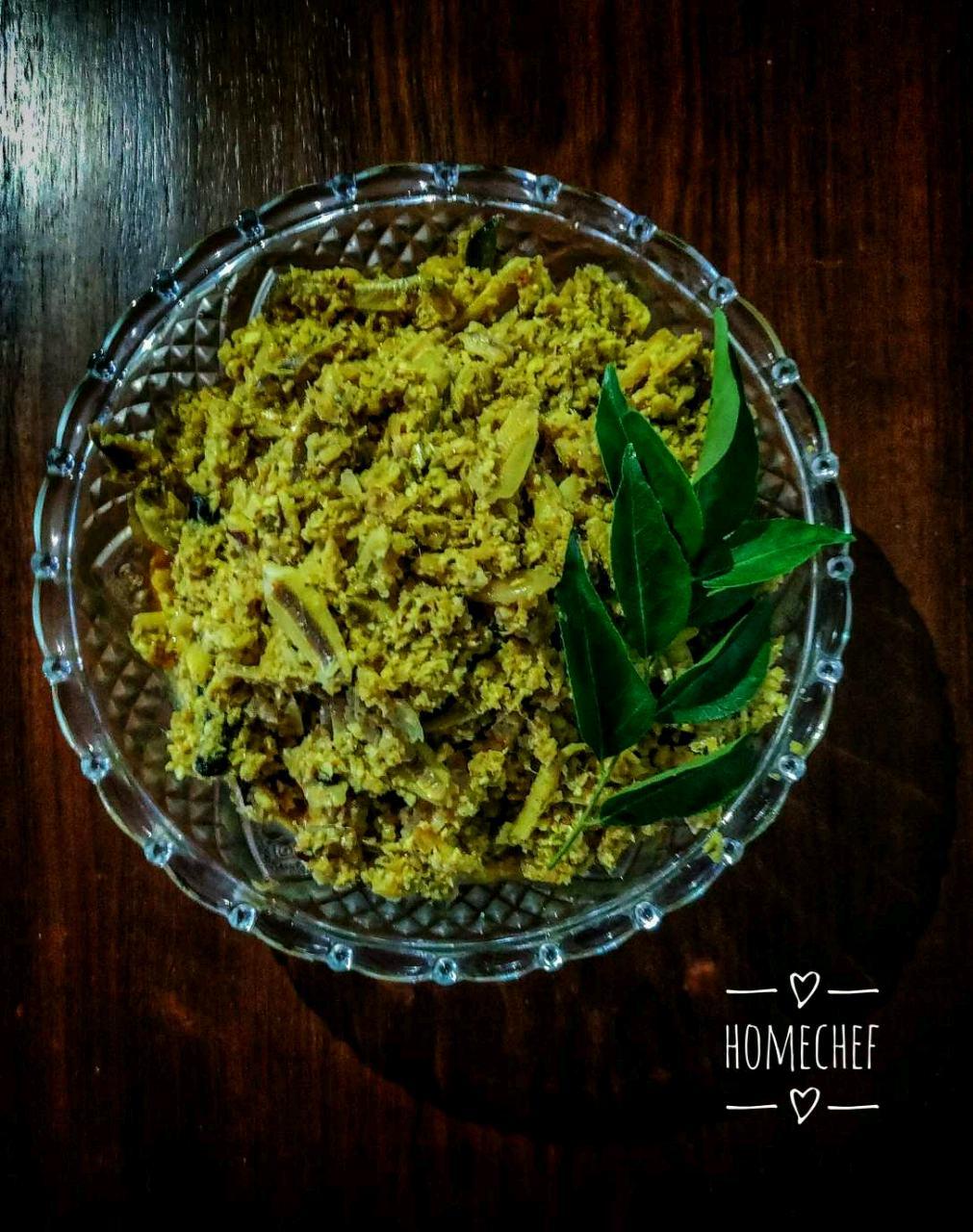 Netholi Meen Peera / Anchovy Fish In Coconut