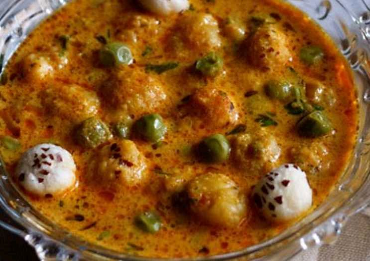 Khoya Makhana Sabji Punjabi Rich Food