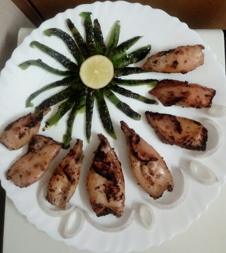 Squid Fish Roasted( Traditional Recipe )