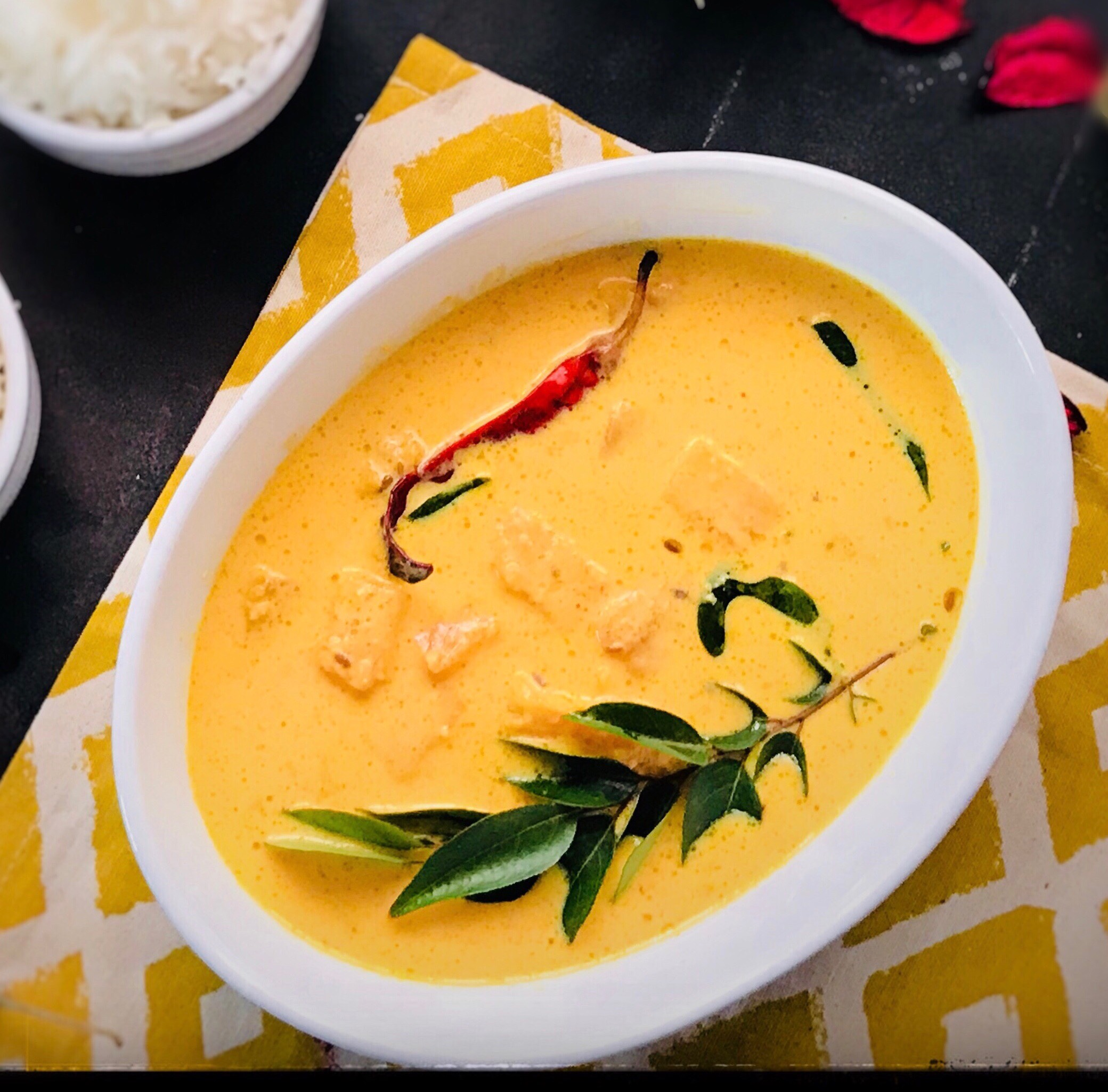 Pineapple Buttermilk curry
