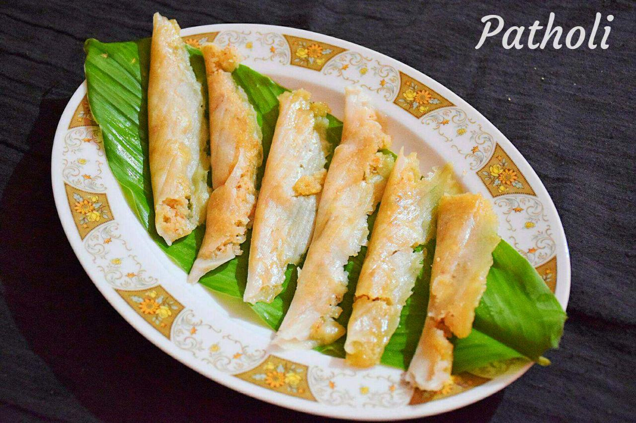 Patholi | Traditional Konkani Sweet Recipe