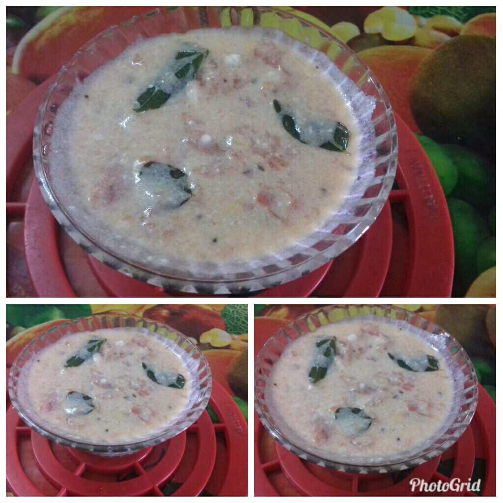 Tomato Curd Chutney /Tomato Perugu Pachadi