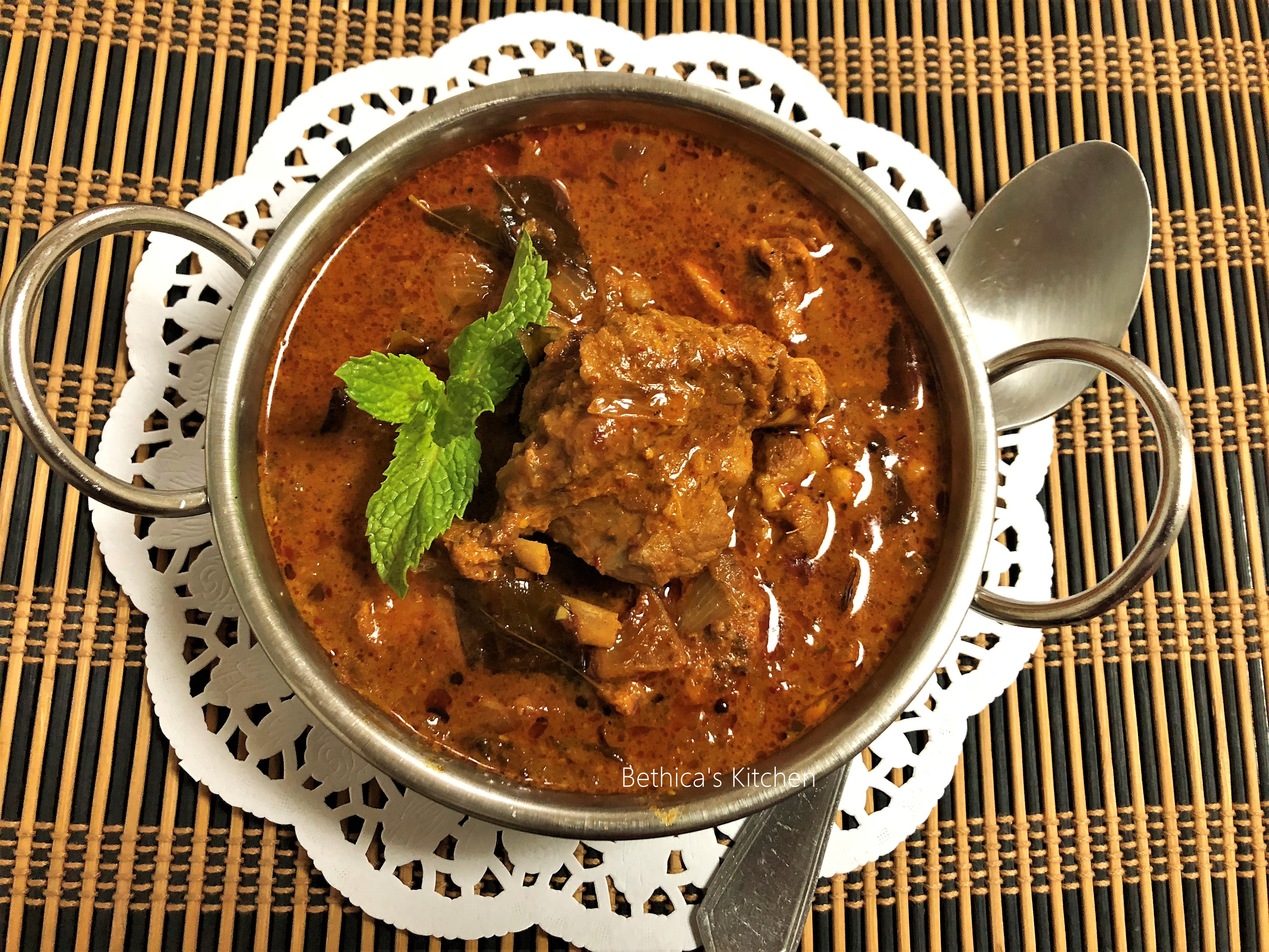 Gongura Mutton (Traditional Andhra Mutton Curry)