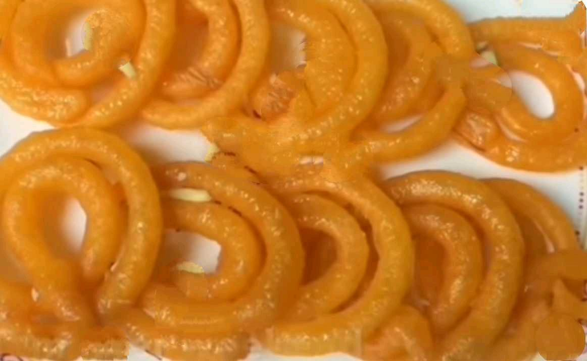Jalebi With Semolina