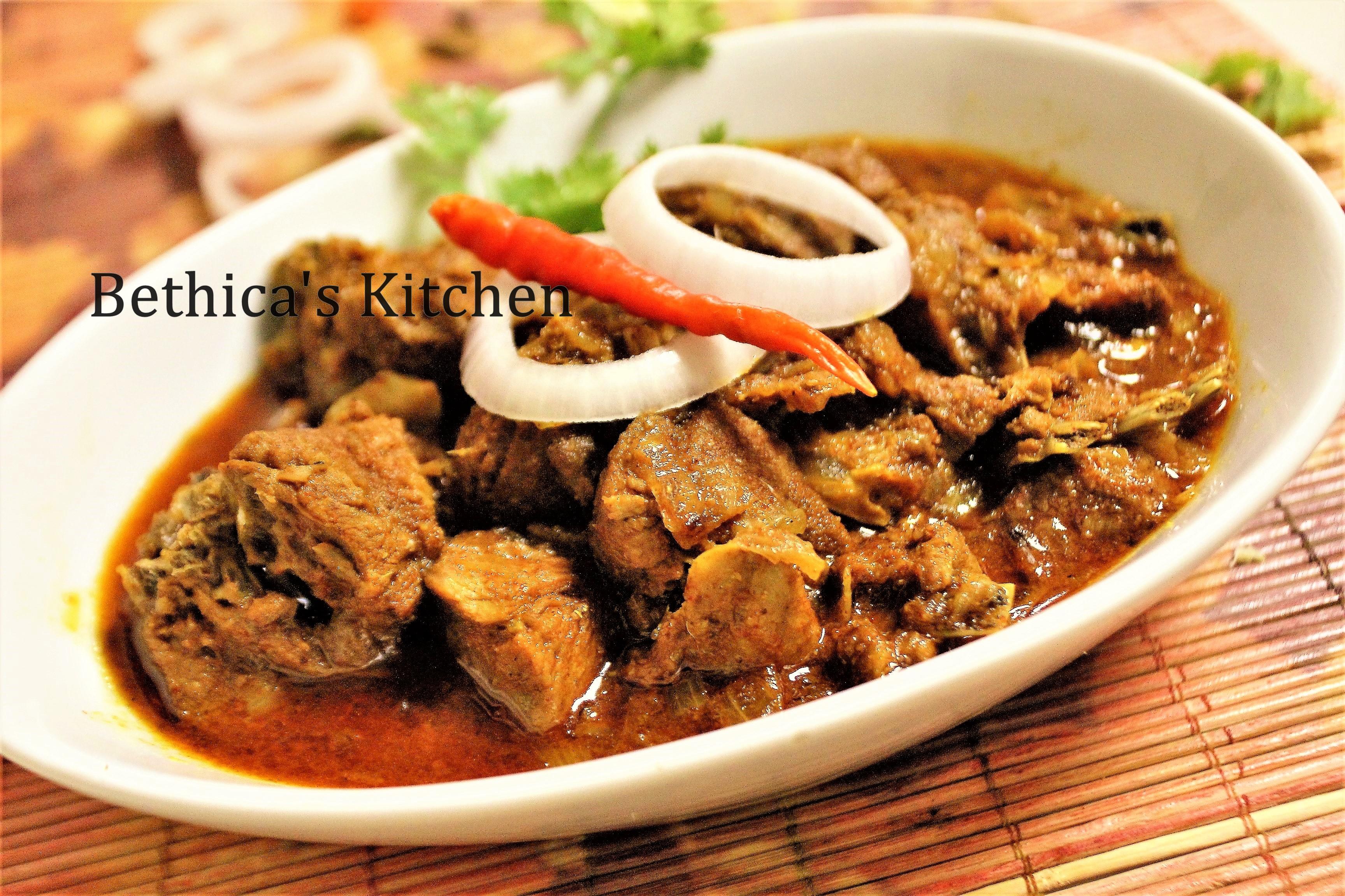 Mutton Vindaloo (Traditional Goan Cuisine)