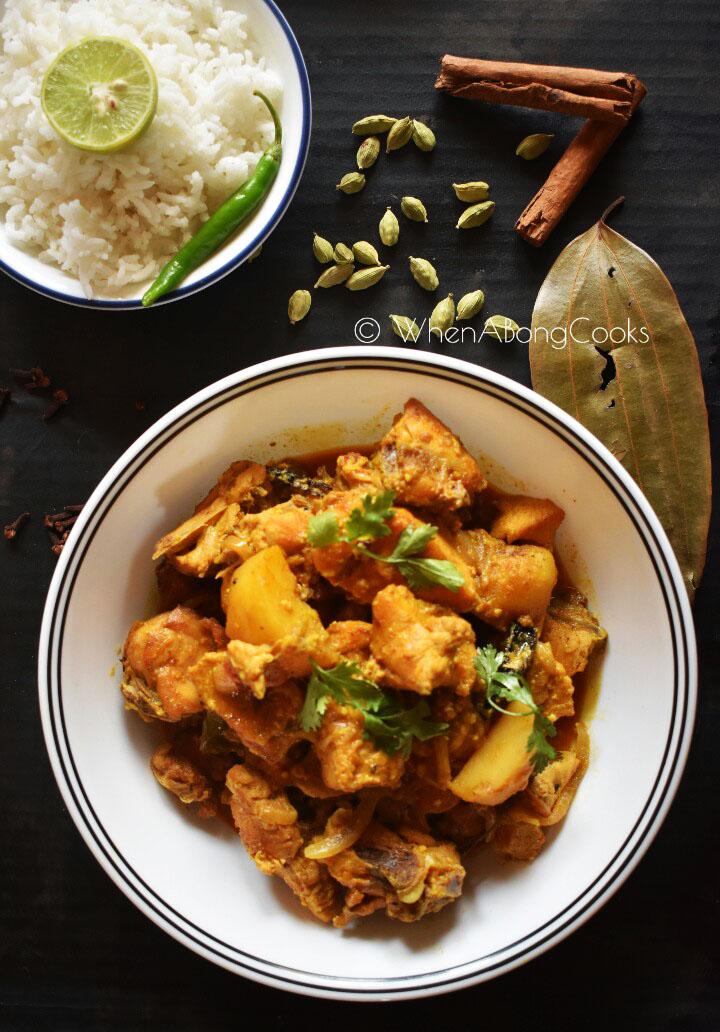 Doi Murgi l Dahi Chicken l Chicken cooked with Yogurt