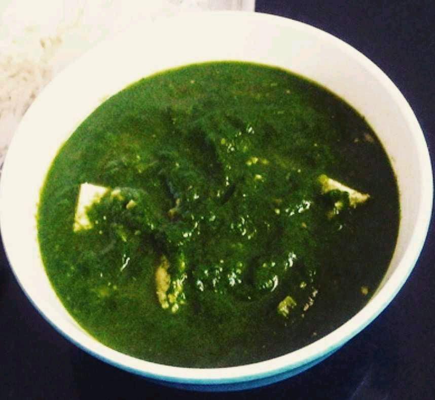 Methi Chaman Curry
