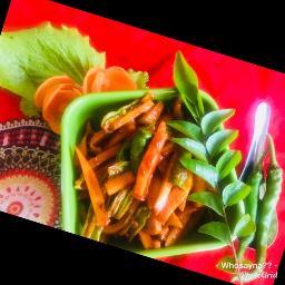 Whosayna's Instant Mango/Carrot Achaar