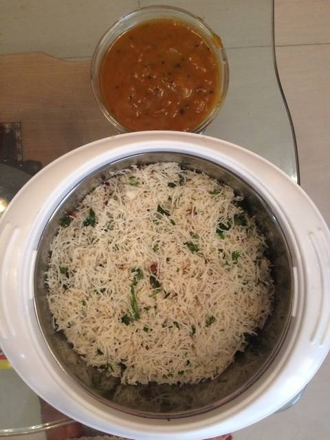 Coconut Sevai (traditional south Indian recipe)