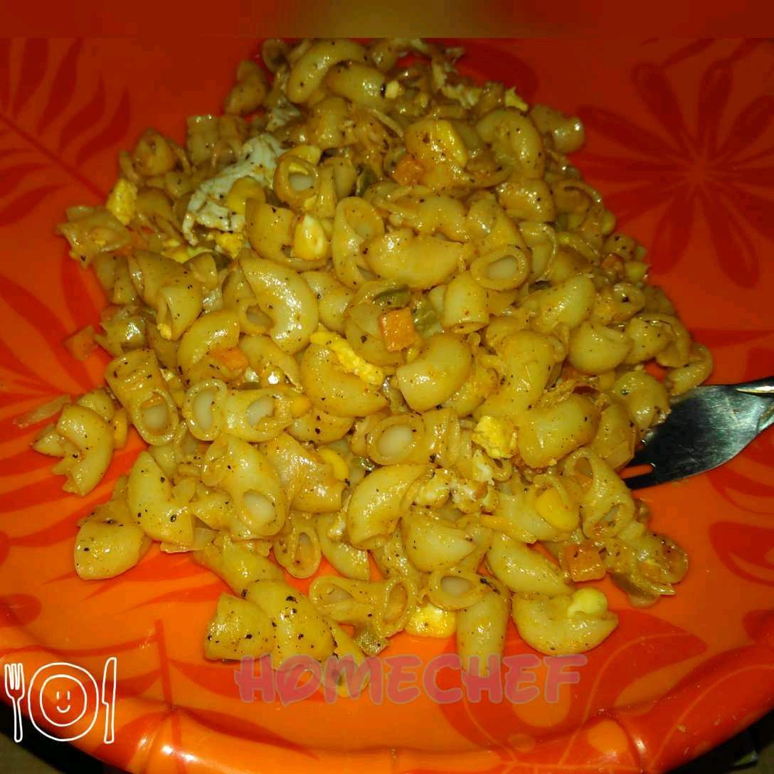 Spicy Egg Pasta