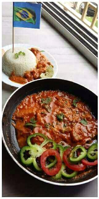 Moqueca ( Brazilian Fish Stew )