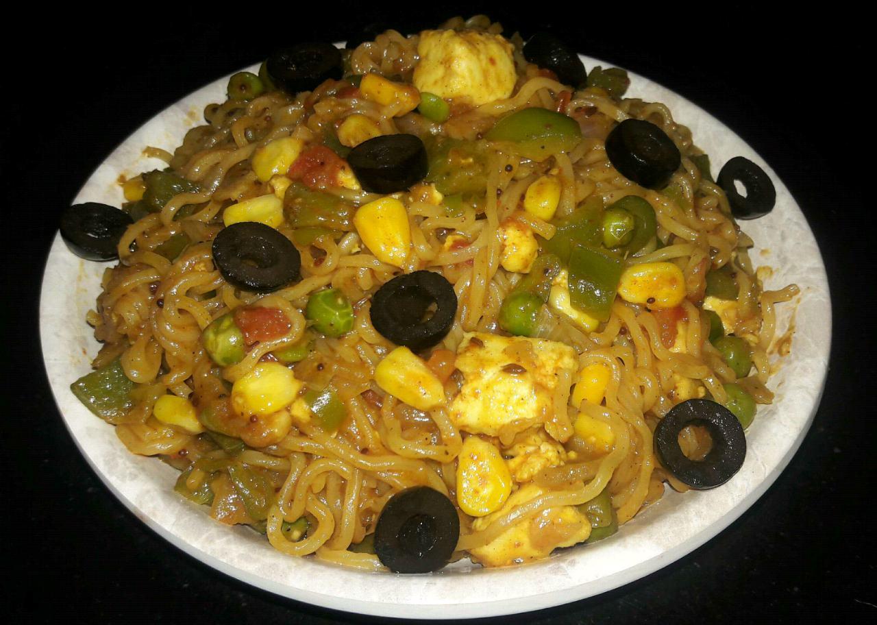 Vegetable Maggi Noodle
