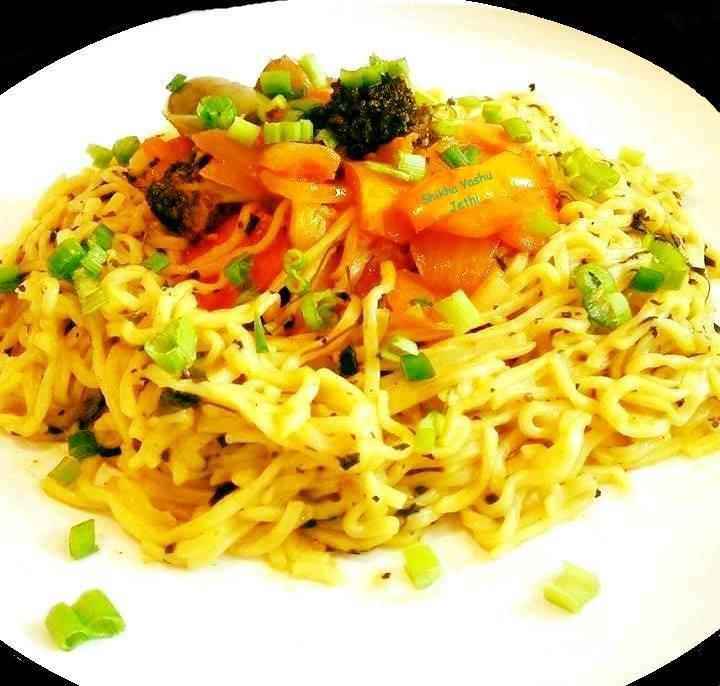 Spaghetti With Mexican Stir Fry
