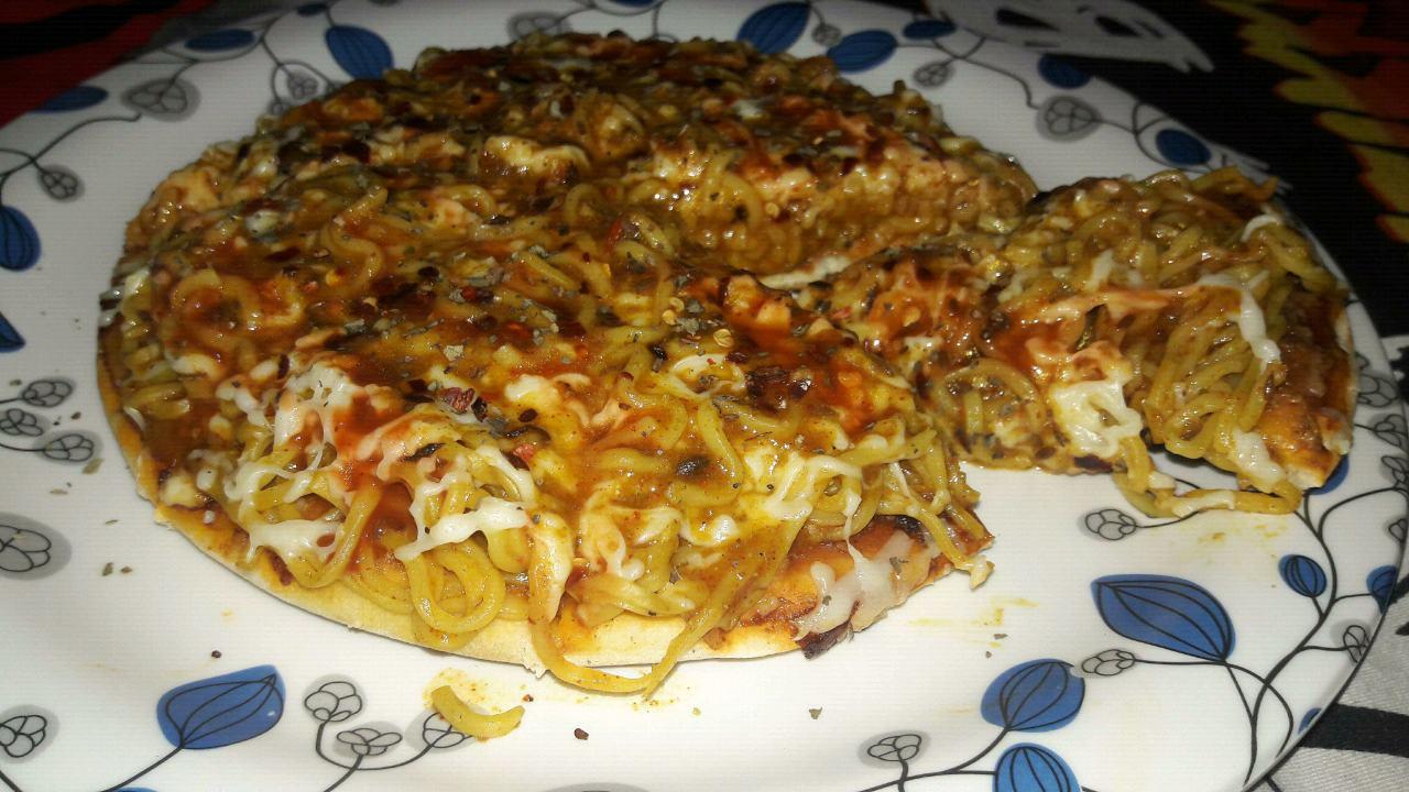 Maggi pizza