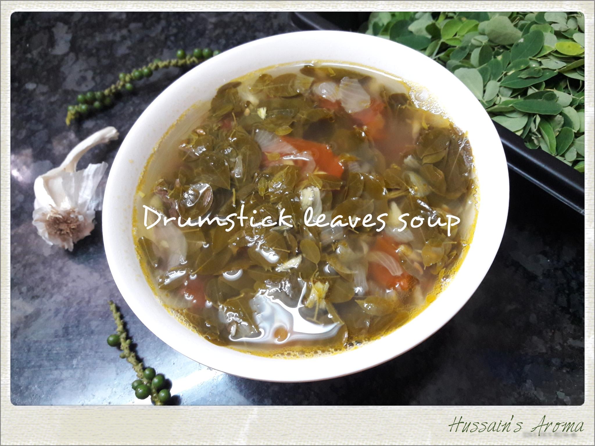 முருங்கை இலை சூப் / Drumstick leaves soup