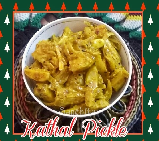 Jackfruit Pickle /Kathal pickle