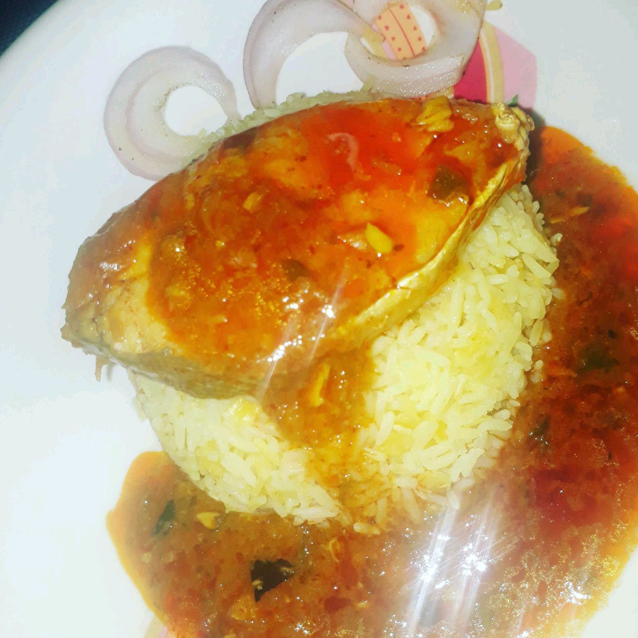 King fish Kokni Salan With Khichdi