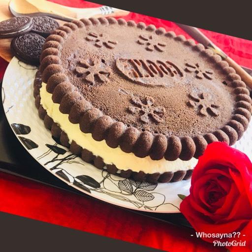 Whosayna's  Oreo IceCream/Cream Cake