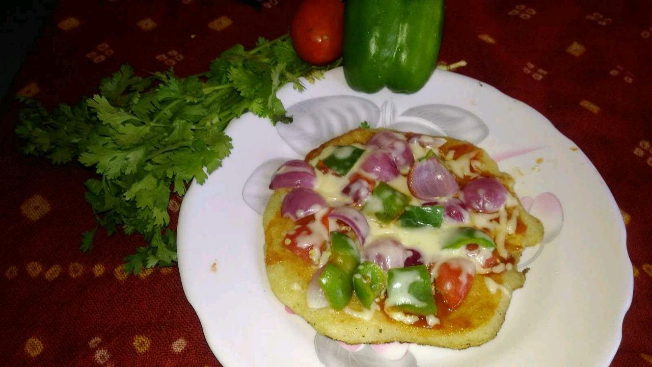 Pizza Uttapam