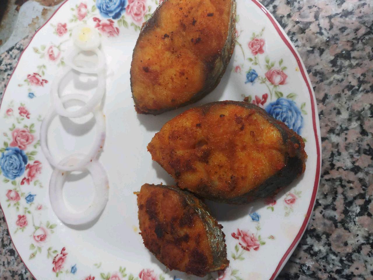 Madras Meen Varuval (Madras Fish Fry)