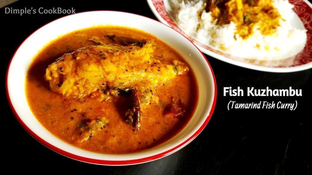 FISH KUZHAMBU – Tamarind Fish Curry