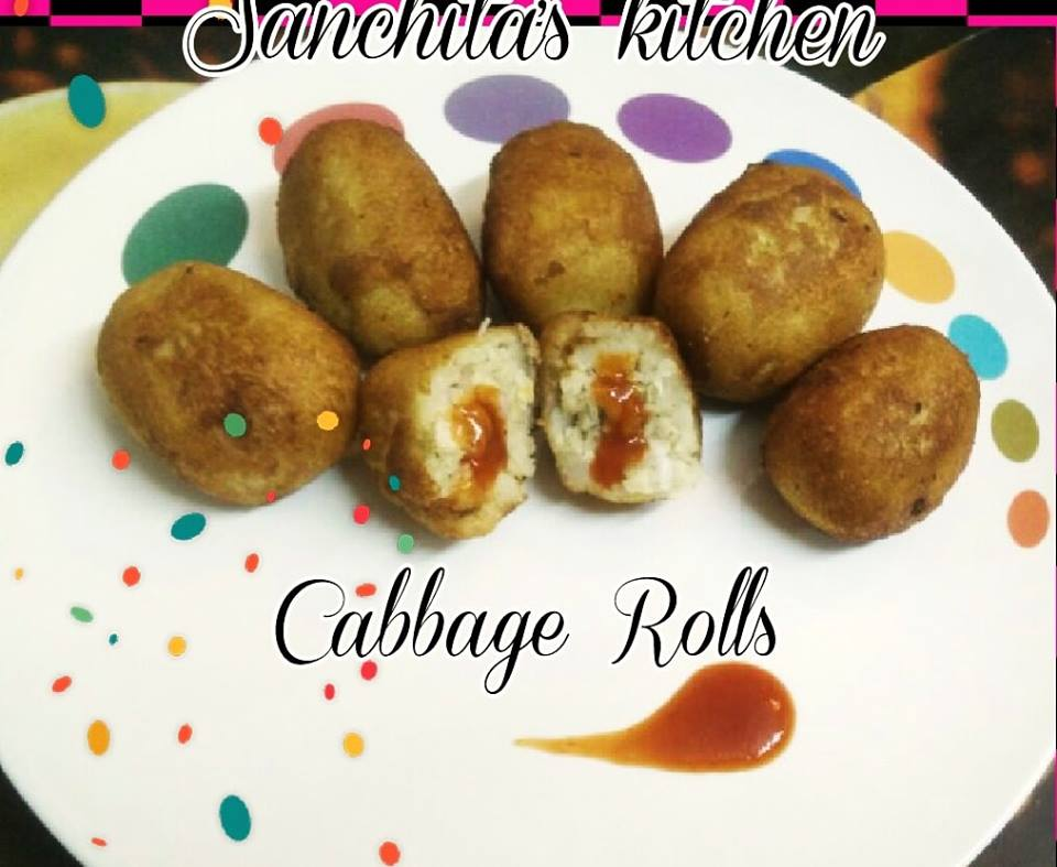 Cabbage cheese rolls