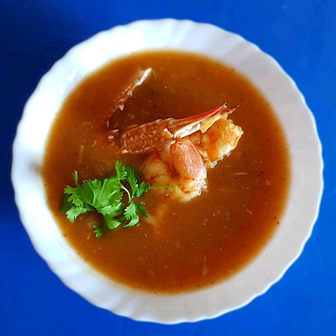 Seafood Carrot Soup