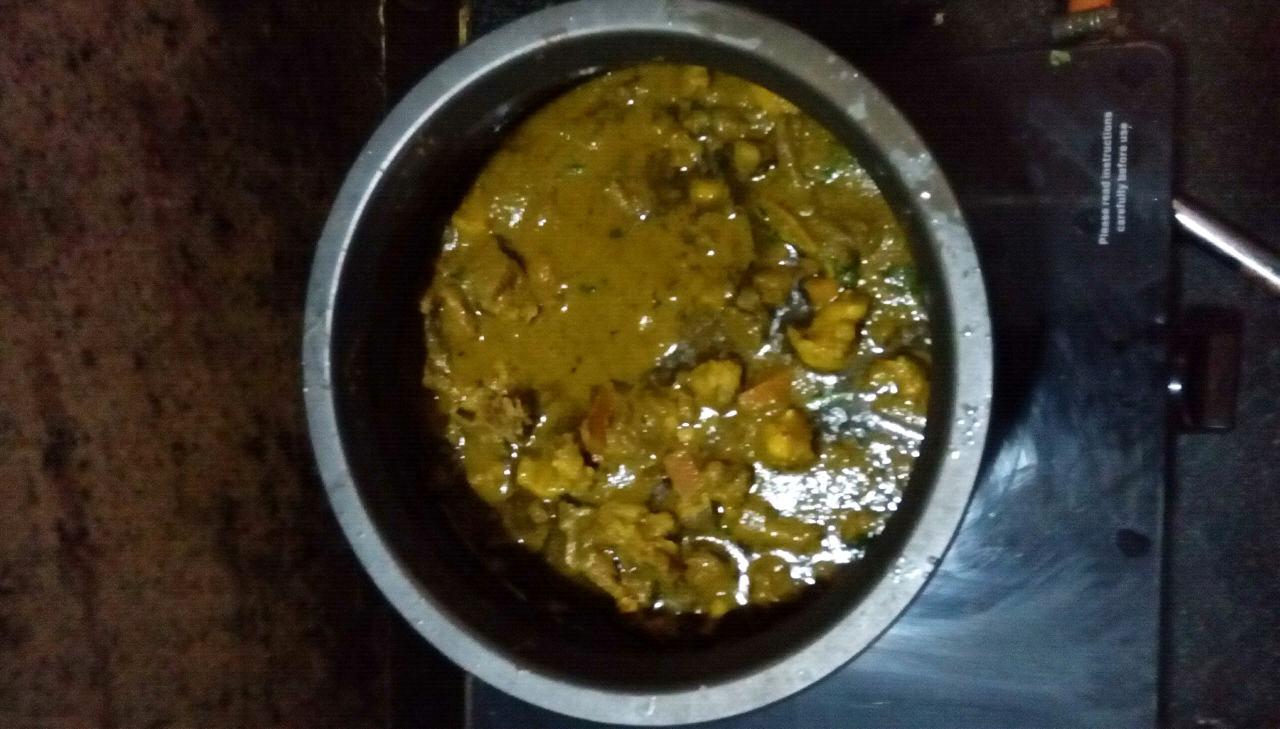 Beef Hara Masala