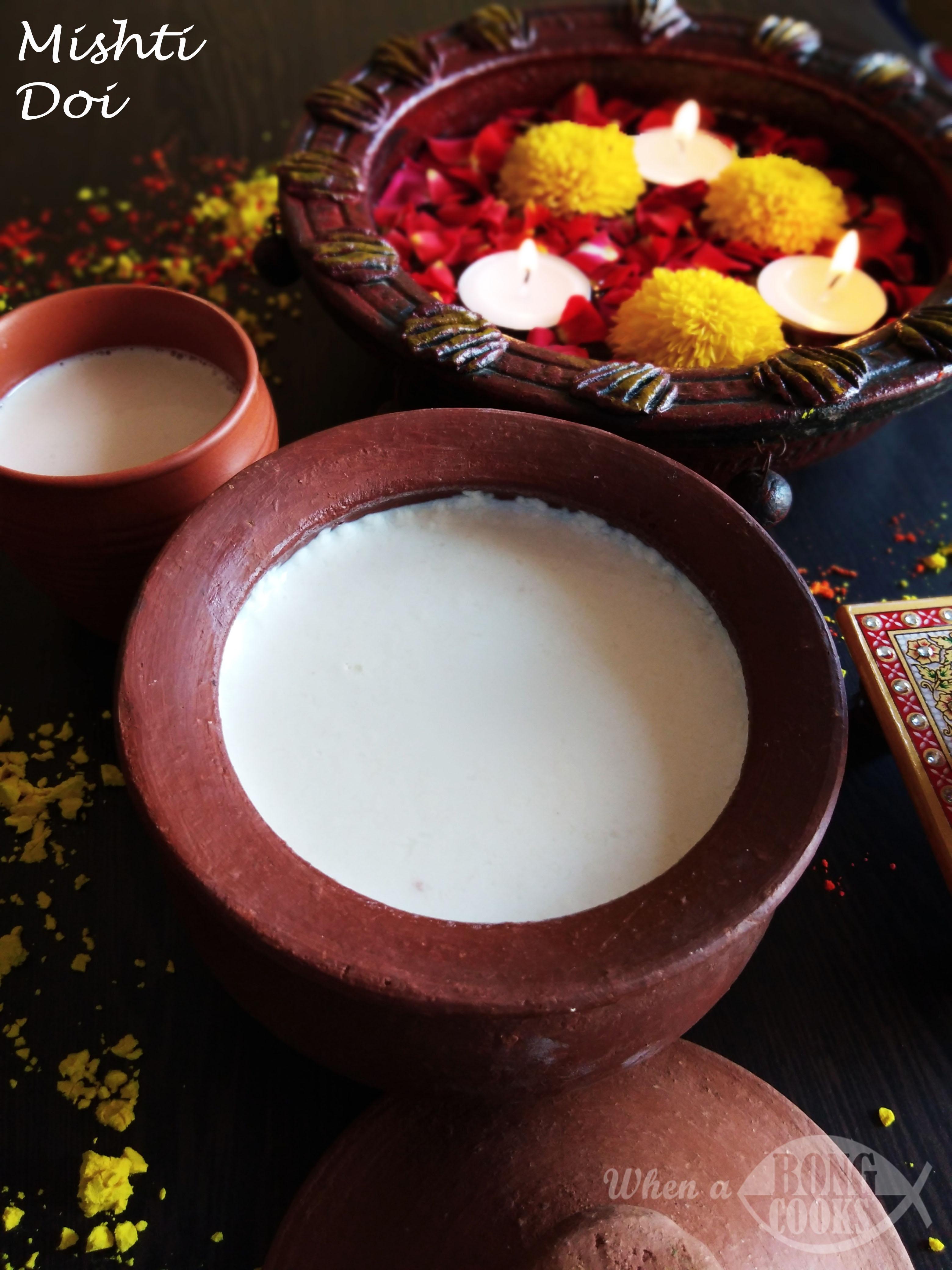Mishti Doi (Bengali Sweet Curd)