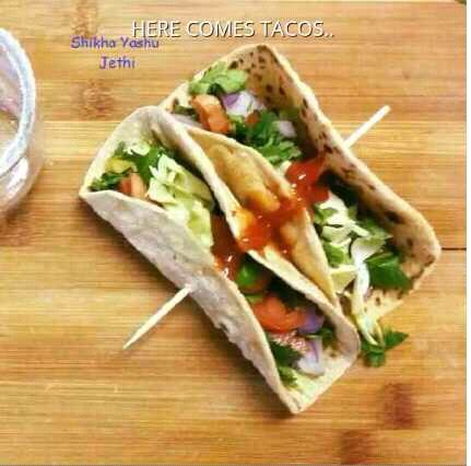 Chapatti Tacos