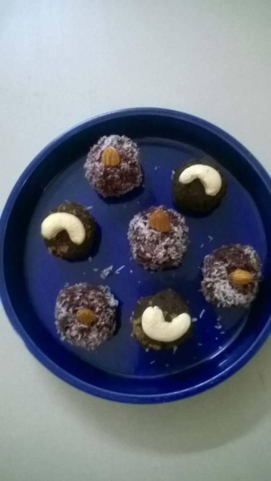 Beet root truffles