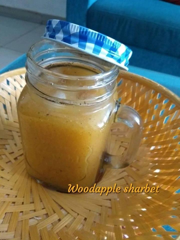 Wood apple sharbet