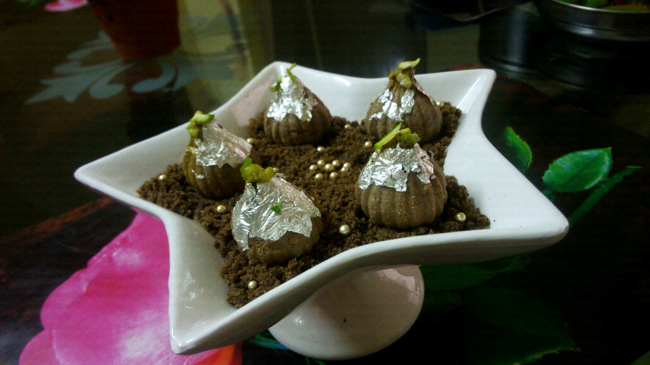 Coffee Modak Sandesh