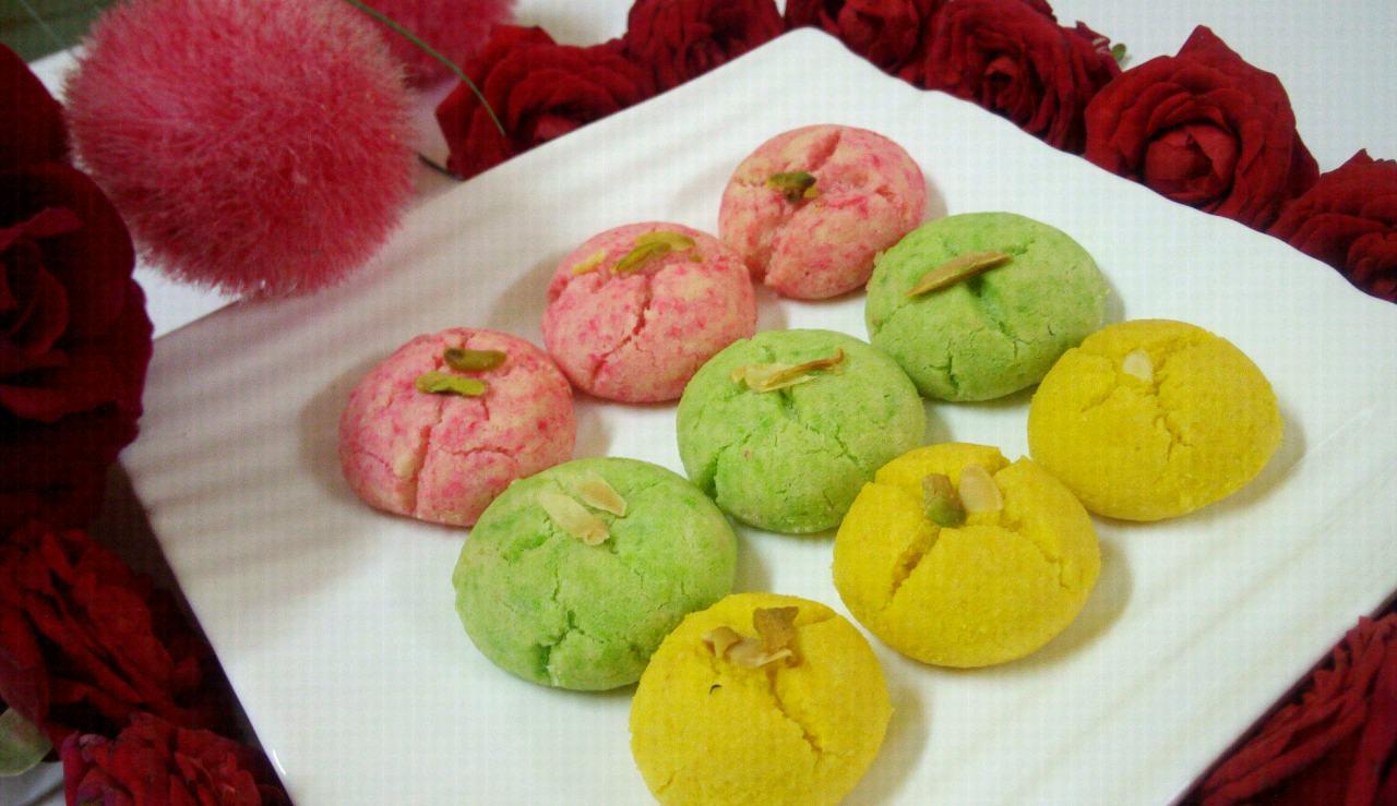 Flavourful Colourful Nankhatai