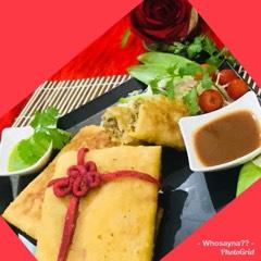 Whosayna's Mutabbaq/Baida Roti