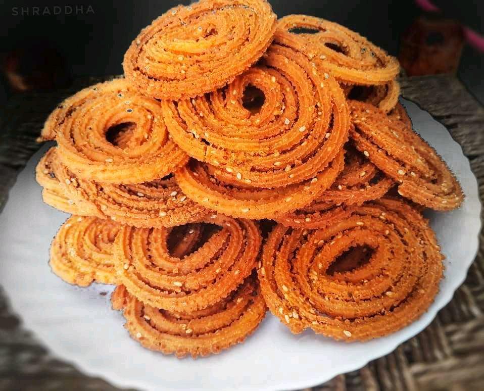 Diwali Faral : Healthy Soya Baked Chakali