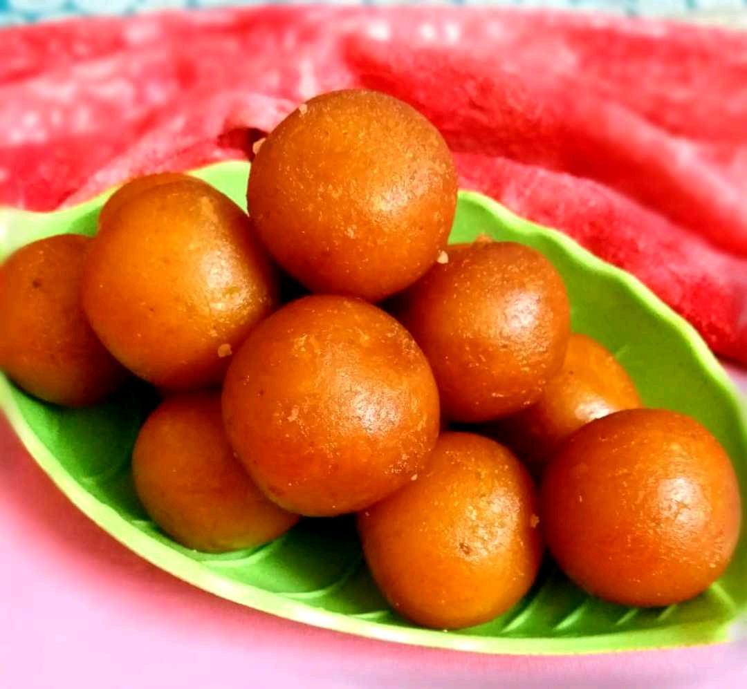 Rice Gulab Jamun