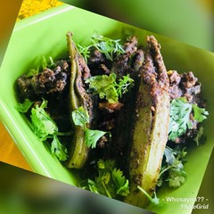 Whosayna's Teelkuth Bhindi or Baigan