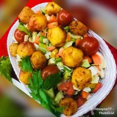 Whosayna's Chilli Baked Potatoes